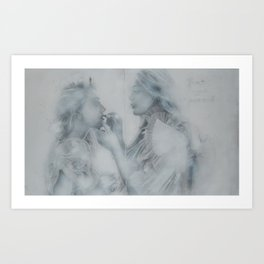 I'll Be Your Mirror [I of II] Art Print