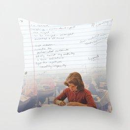 I've Learned; [Dear Capitalist Scum] Throw Pillow
