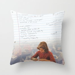 I've Learned; [Dear Capitalist Scum] Throw Pillow