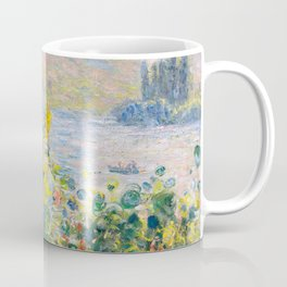 Flower Beds at Vétheuil by Claude Monet 1881 Coffee Mug