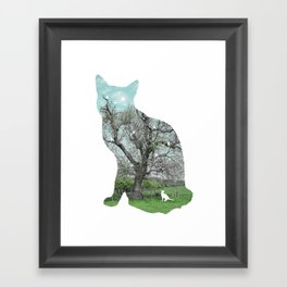 A cat's life III Framed Art Print