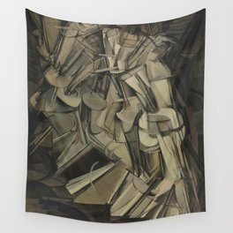 Marcel Duchamp's Nude Descending a Staircase, No. 2 Wall Tapestry