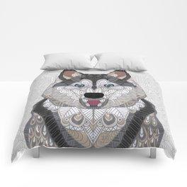 Happy Husky Comforters