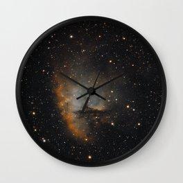 Pacman Nebula 1 Wall Clock