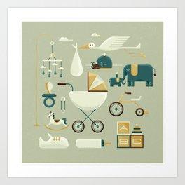 Baby's Nursery Art Print