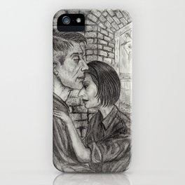 Winston and Julia iPhone Case