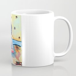 "The Beach-suit Bather ""Bonni"" Coffee Mug"