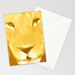 """Fragments """"Lion"""" Stationery Cards"""