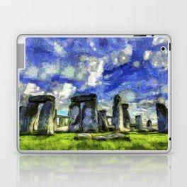 Stonehenge Vincent Van Gogh Laptop & iPad Skin