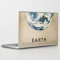 earth Laptop & iPad Skins featuring Earth by Heather Landis