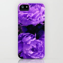Peony Ultra Violet iPhone Case