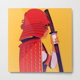 Onna-Bugeisha Warrior Metal Print
