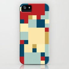 Squares Pattern Slim Case iPhone (5, 5s)