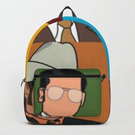 Anchorman Pop Art Backpack