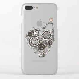 Love Machine Clear iPhone Case