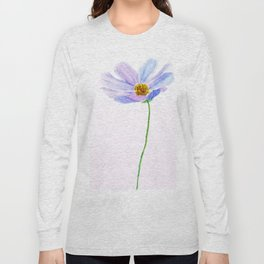 one purple cosmos Long Sleeve T-shirt