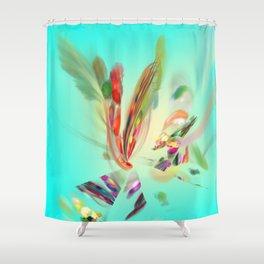 the Art of flying / Kunst ist fliegen Shower Curtain