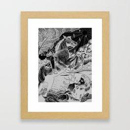 Edward Lear Illustration Framed Art Print