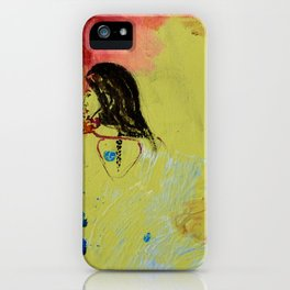 Green Goddess iPhone Case