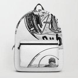 Dubai in a glass bowl . Dubai ( https://society6.com/vickonskey/collection ) Backpack