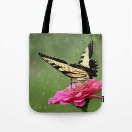 Bokehs and Butterflies Tote Bag