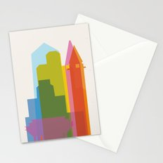 Shapes of San Diego Stationery Cards
