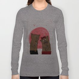 funny valentine Long Sleeve T-shirt