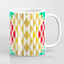 050 - traditional pattern interpretation with golden foil Coffee Mug