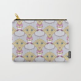 Bobblehead Grannies Everywhere Tessellation Carry-All Pouch