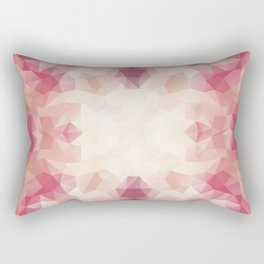 """Protea flower"" triangles design Rectangular Pillow"