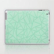 Geo Lines Mint Laptop & iPad Skin