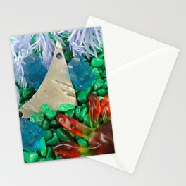 Lost in gummy space Stationery Cards