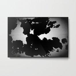Skins #2 Cow Metal Print