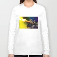 boba fett Long Sleeve T-shirts featuring Boba Fett by Vincent Vernacatola