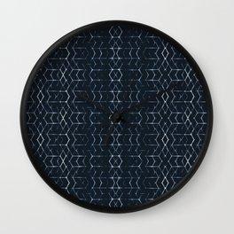 Shibori Glow Wall Clock