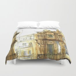 Old Palermo Duvet Cover