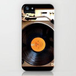 Vintage Pioneer Turntable iPhone Case