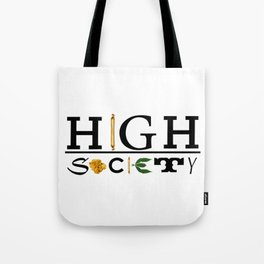 High Society Logo2 Tote Bag