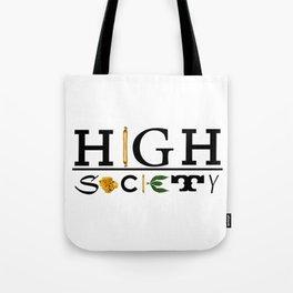 High Society Logo2 Tote Bag