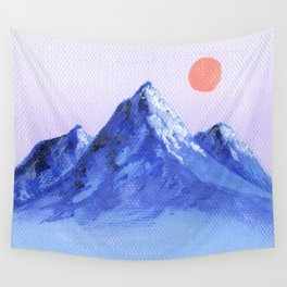 Shades of Mountain Majesty Wall Tapestry