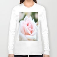 rose Long Sleeve T-shirts featuring Rose by Whimsy Romance & Fun