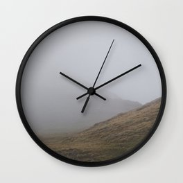 Foggy Hill Wall Clock