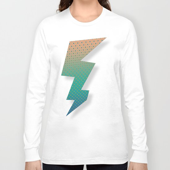 Polka Plankton Blue Long Sleeve T-shirt