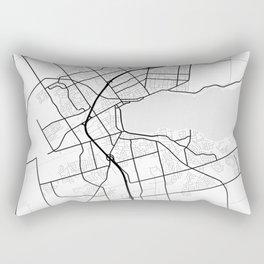Barrie Light City Map Rectangular Pillow