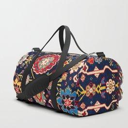 Shirvan Caucasian Afshan Rug Duffle Bag