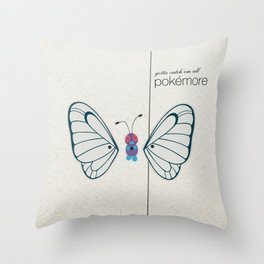 Pokémore Throw Pillow