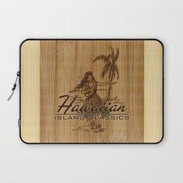 Tradewinds Hawaiian Island Hula Girl Laptop Sleeve