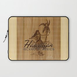 Tradewinds Hawaiian Island Hula Girl Laptop Sleeve