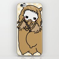 fili iPhone & iPod Skins featuring Dwarpacas(Fili) by Lady Cibia