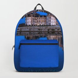 The castle of Chambord at night Backpack